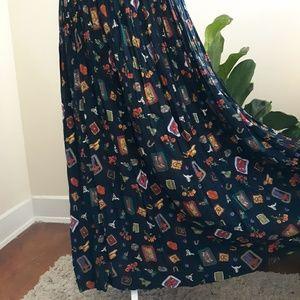 VTG 90's Cowboy/Western Themed Skirt
